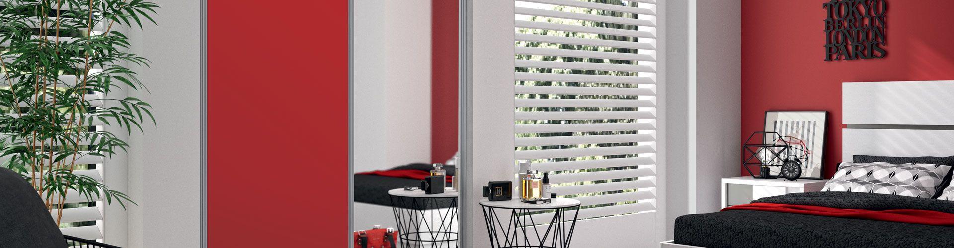 fa ade de placard kazed couleur et miroir kazed. Black Bedroom Furniture Sets. Home Design Ideas