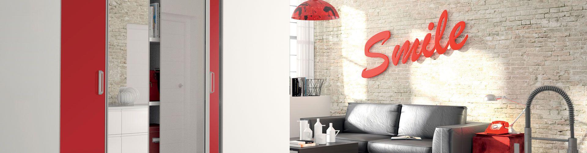 porte de placard pliante kazed. Black Bedroom Furniture Sets. Home Design Ideas